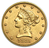 Amerikansk Gold Eagle - $10 Liberty Head - 15,046 gram guld